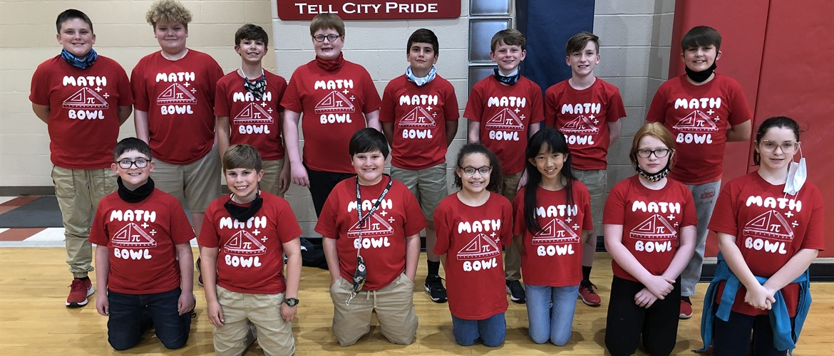 Photo of Math Bowl team.