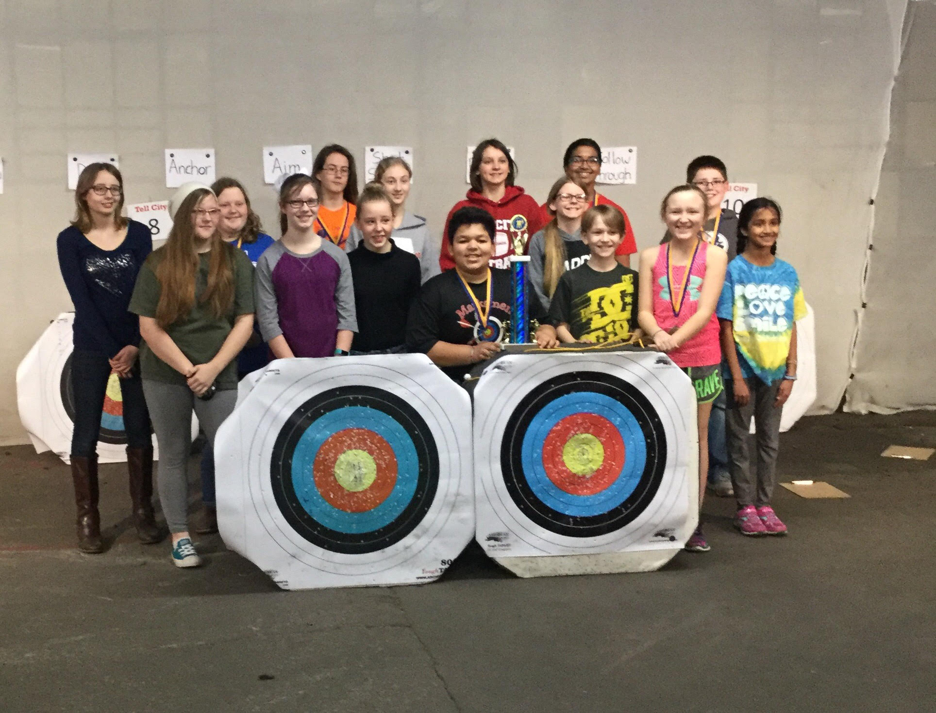 Archery 2nd at Castle