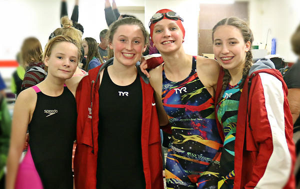 JH Girls Swimming