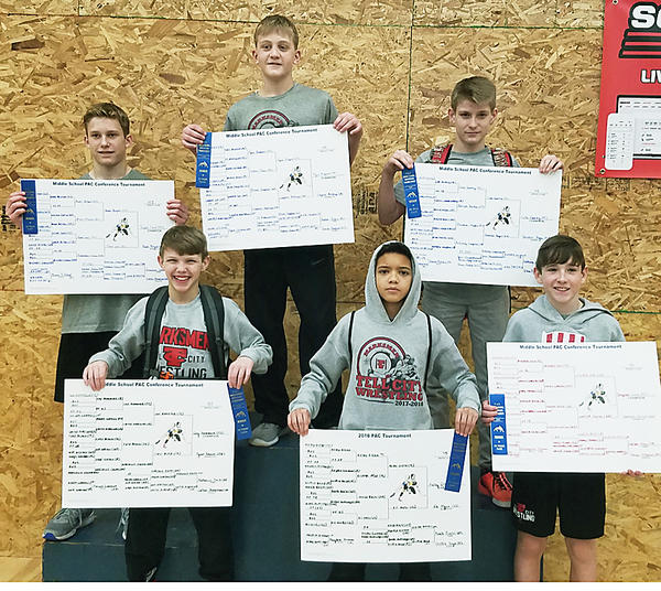 Jr. High Wrestling Champions