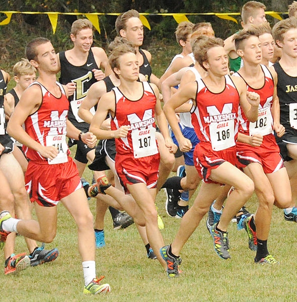 TC boys Cross Country
