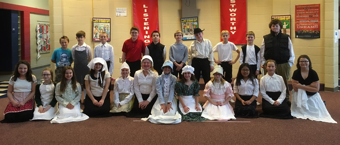 Ms. Peter's Colonial Fair