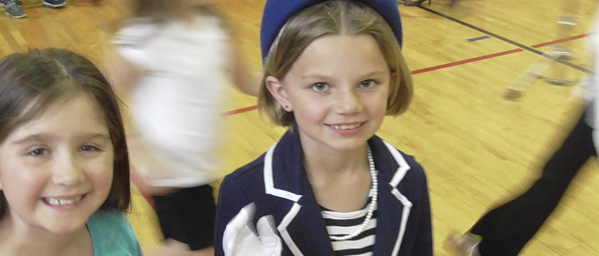 Jackie Kennedy was in town for the third grade wax museum. See more photos in the photo gallery.