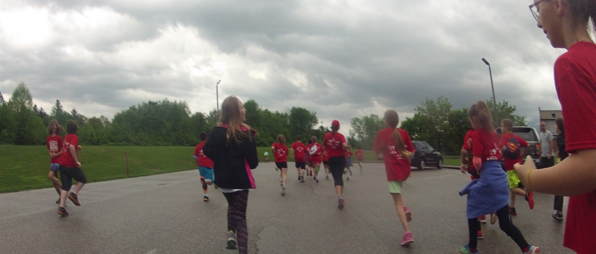 A runner's perspective of the WTE TRiathlon shot with a Go Pro camera by Tori a broadcasting team member.