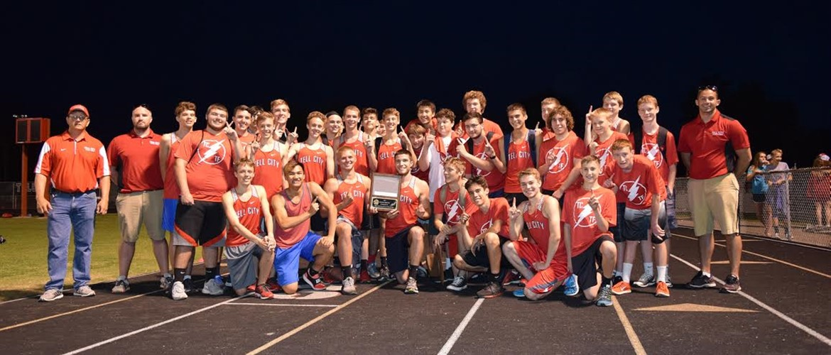 Boys Track and Field - PAC CHAMPS!