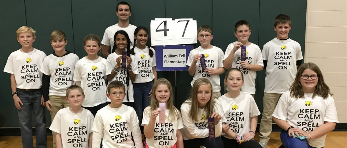 WTE Spell Bowl team.
