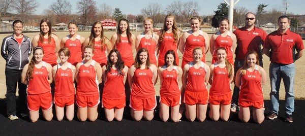 Girls Track and Field 2017