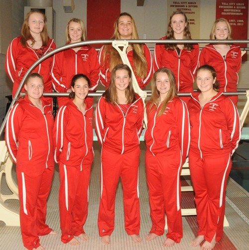 Girls swimming tell city troy township schools for United township high school swimming pool